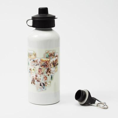 foto trinkflasche selbst gestalten und bedrucken lassen collage