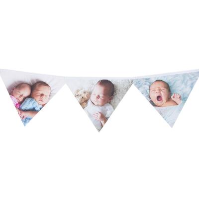 Guirlande avec photos bébé