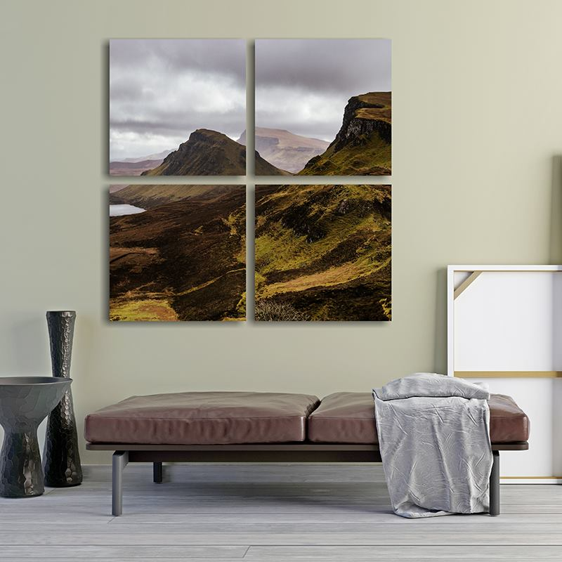 multi panel canvas prints custom canvas art 3 or 4 panel splits
