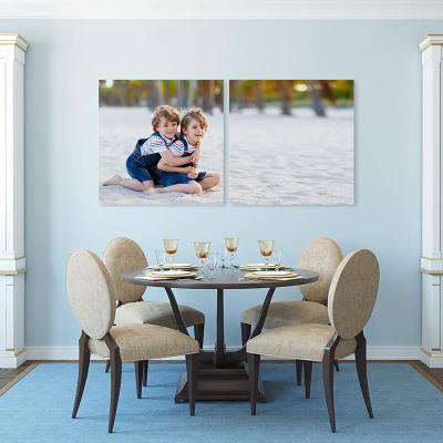 cuadros dipticos de lienzos con fotografía