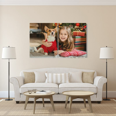 custom personalized diptych