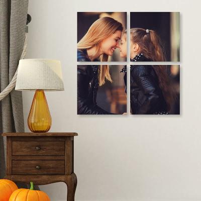 cuadro 4 piezas personalizado