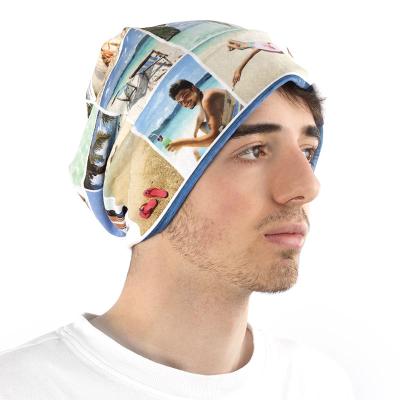 mütze mit fotocollage bedruckt für kinder und erwachsene