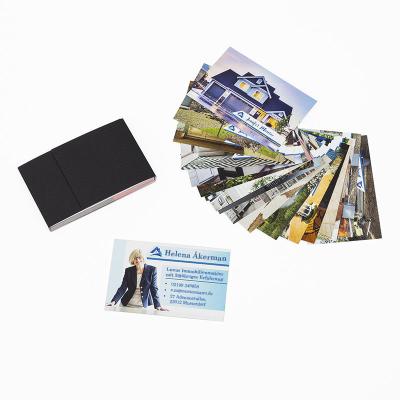 personalisierte foto visitenkarten selbst gestalten