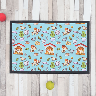 dog food mat for dogs and cats