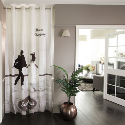 custom door curtain