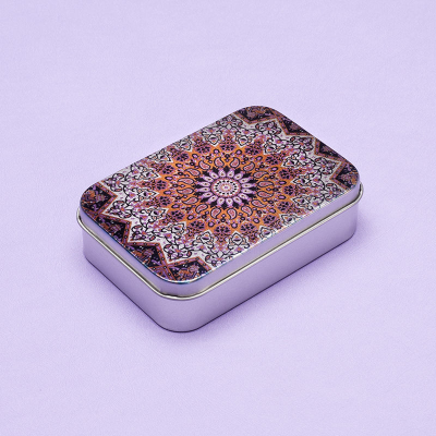 silver tin box