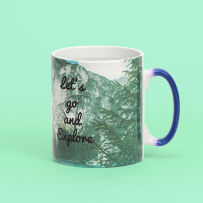 heat changing mug