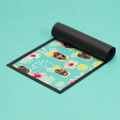 custom bar mats
