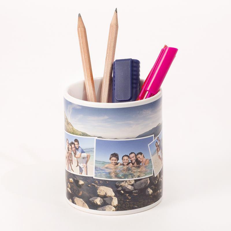 personalised pen holder photo pencil holder