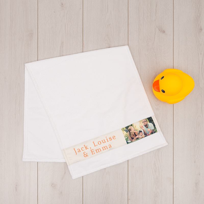 handtuch bedrucken handtuch selbst gestalten mit fotos text. Black Bedroom Furniture Sets. Home Design Ideas