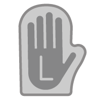 Left Hand Oven Glove