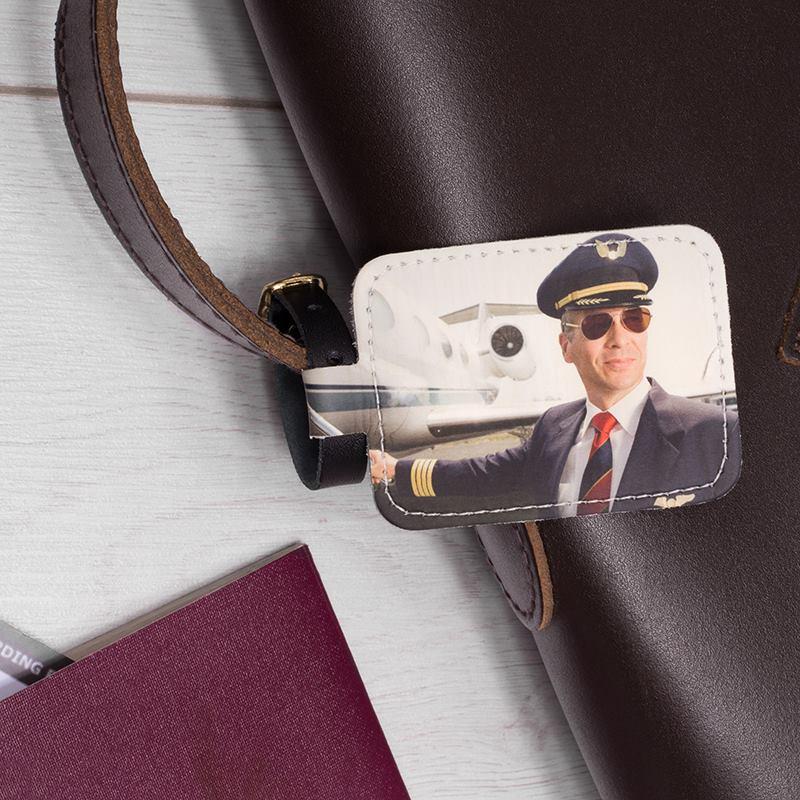 kofferanhaenger bedrucken personalisierter anhaenger mit foto