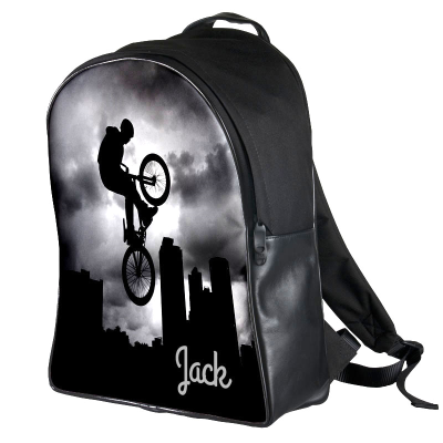 Personalized Leather Backpack