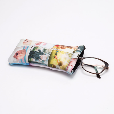 personalised soft glasses pouch
