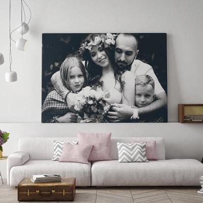 custom printed photo canvas