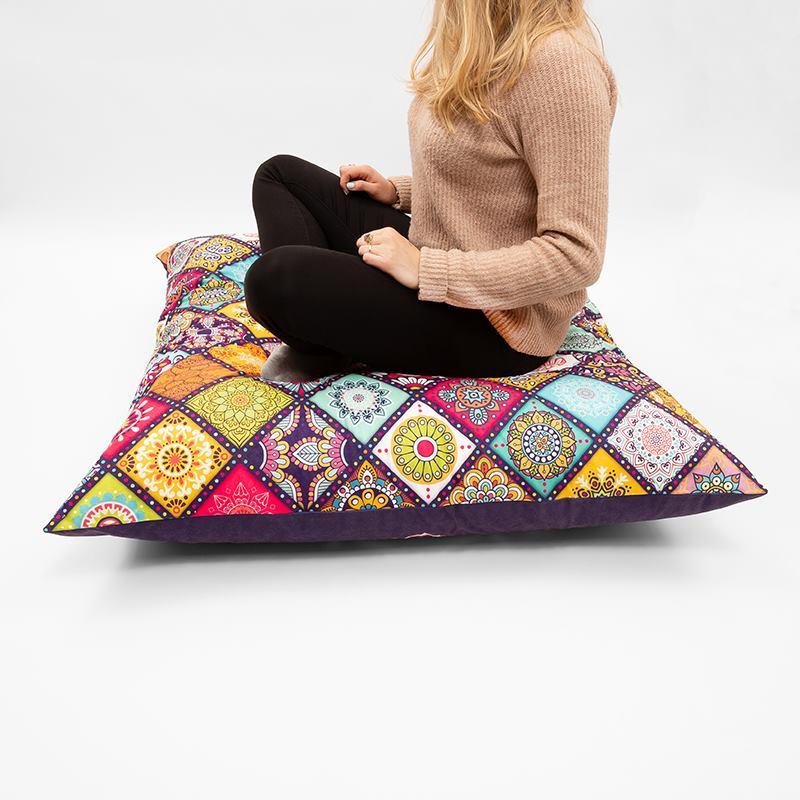 Custom Meditation Pillow Personalised Meditation Pillows