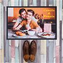 paillasson personnalis photo sur tapis d 39 entr e. Black Bedroom Furniture Sets. Home Design Ideas