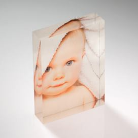 The Brand New Dad Acrylic Block Gift
