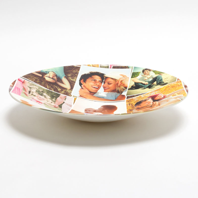 collage bowls with your favourite pictures
