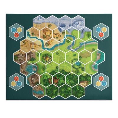 英国製カードゲームプレイマット