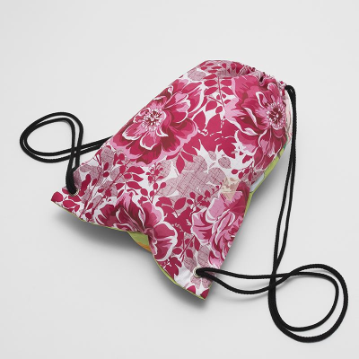 drawstring bag for sports and gym kit