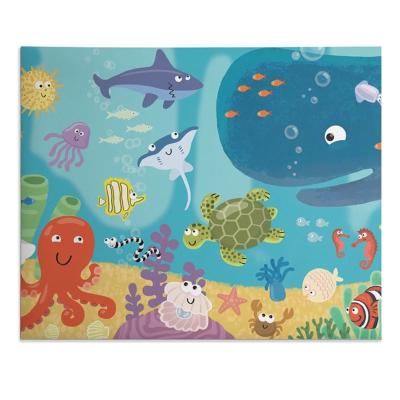 custom printed play mat
