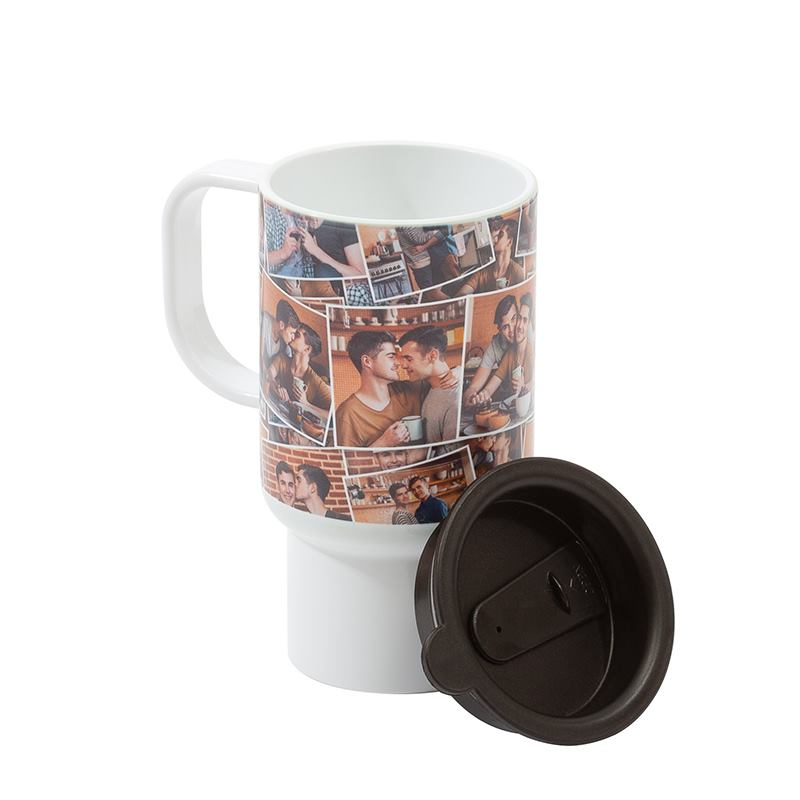 personalized travel mugs design a photo travel mug handmade in our