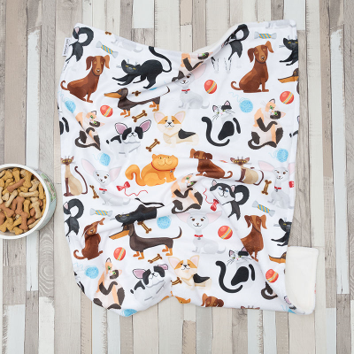 fleece pet blanket for dogs and cats