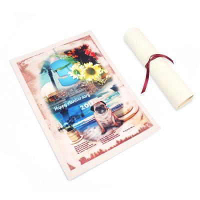 custom made scroll prints