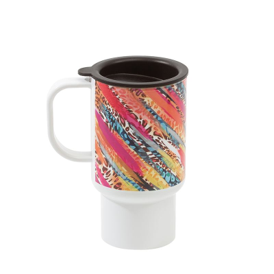 designer travel mug