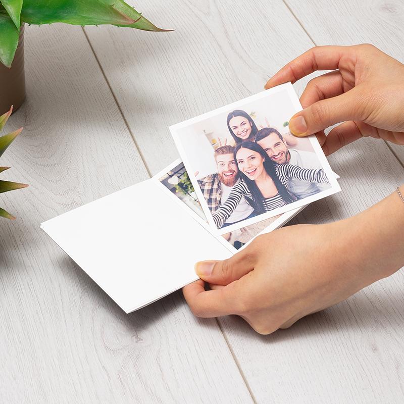 Tirage photo carré avec tous vos amis