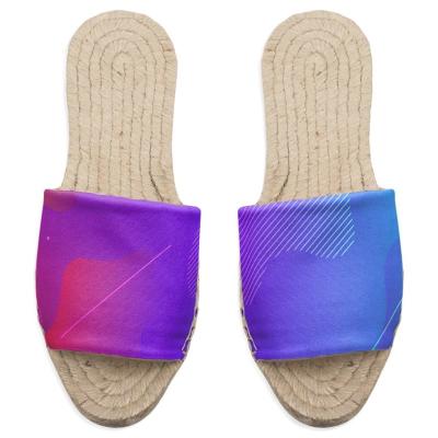 personliga espadrillo sandaler