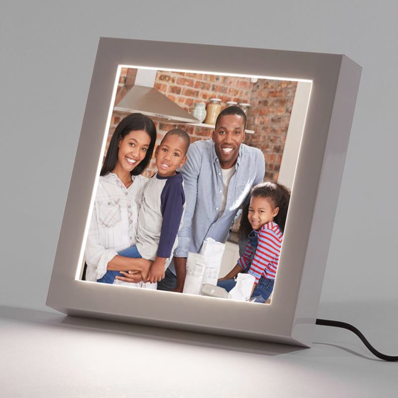 LED Picture Frame. Design Your Own LED Photo Frame. Made In The UK.