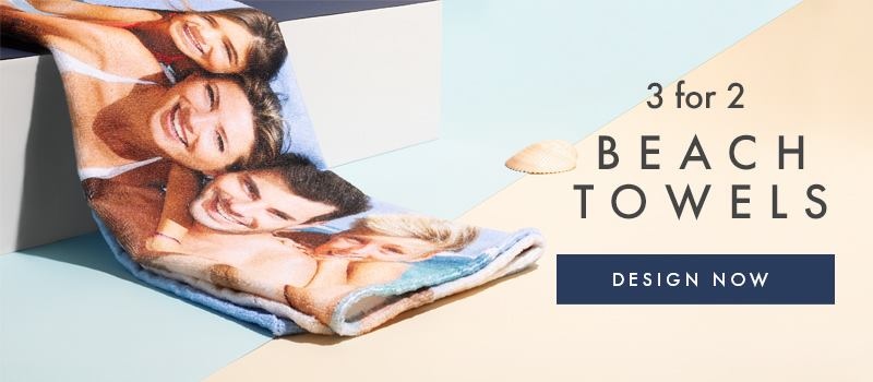 Custom Photo Beach Towels