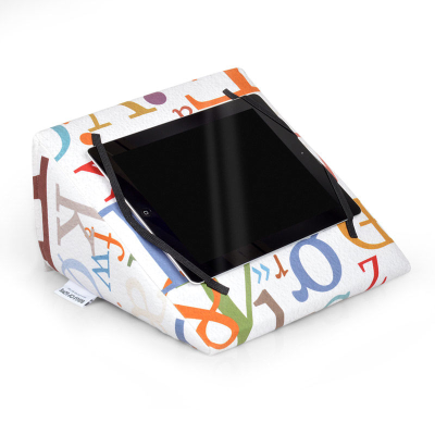 iPad Wedge Stand With Photos