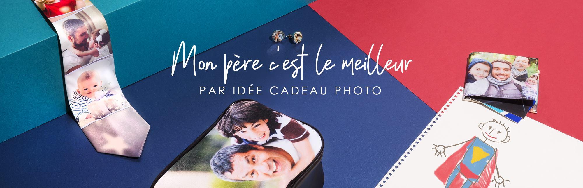 Fête des Pères Idée Cadeau Photo