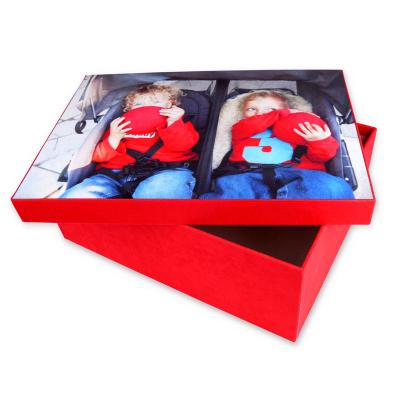 Christening photo box