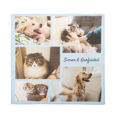 custom printed bandana for dogs