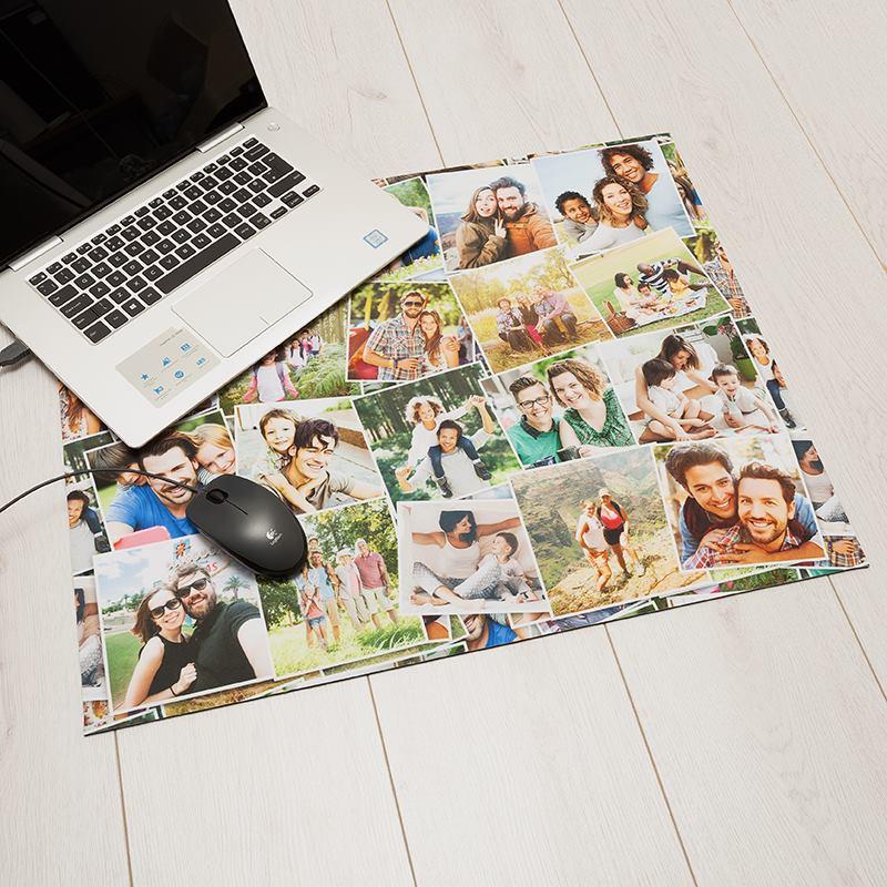 schreibtischunterlage selbst gestalten schreibtischunterlage mit foto. Black Bedroom Furniture Sets. Home Design Ideas