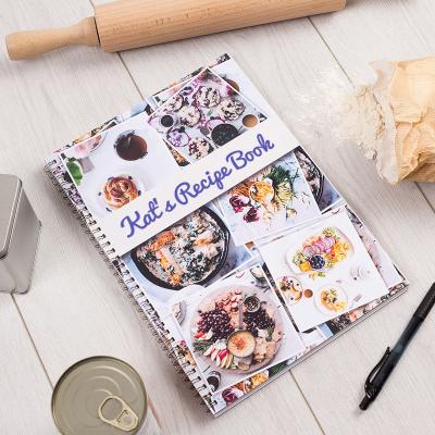 spiral recipe book