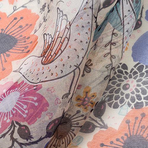 printing on organza fabric