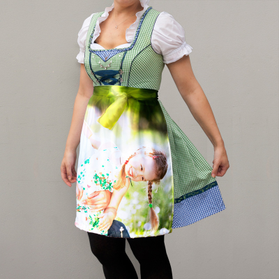 personalised dirndl apron