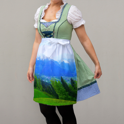 custom made dirndl apron