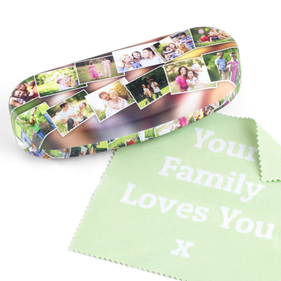 personalised hard shell glasses case