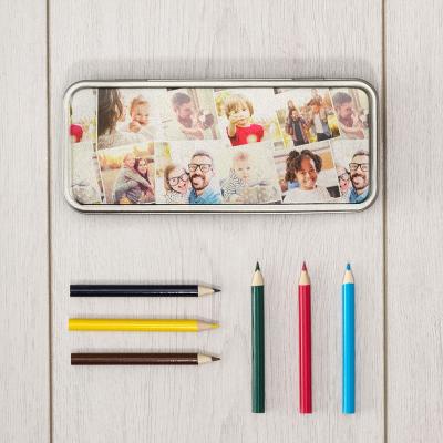 Boîte à crayons personnalisée pour enfant