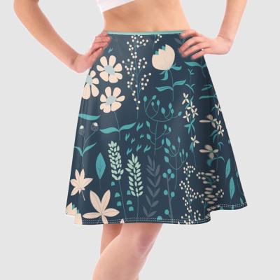 custom printed skirt