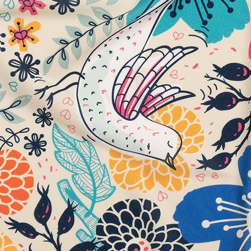 シルキージャージー 布印刷
