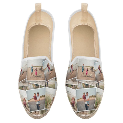 custom espadrille loafers