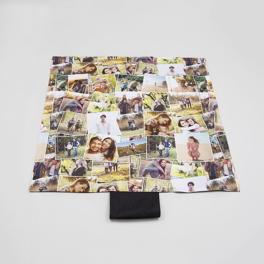 personalised camping blanket